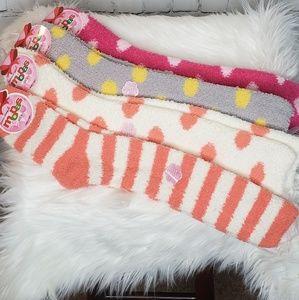 Accessories - Plush Fuzzy Knee High Socks